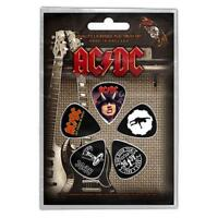 OFFICIAL LICENSED - AC/DC - HIGHWAY 5 GUITAR PLECTRUM / PICKS PACK ANGUS