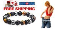 Hematite Weight Loss Management Magnetic Bracelet Canadian Seller Fast Ship