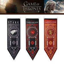 """For Game of Thrones House Stark Targaryen Banner Flag Wall Hanging  Decor 19""""*59"""