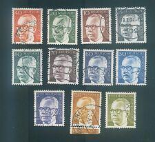 Germany 1970-1974 Pres. Gustav Helnemann
