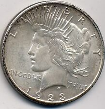 1923-S ABOUT UNCIRCULATED  UNCIRCULATED SILVER DOLLAR