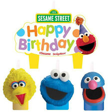 Sesame Street Birthday Candles,Cake Topper Decorations ~ Party Favor Supplies