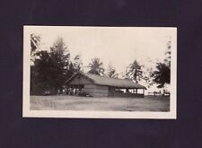 VINTAGE PHOTO / MILITARY OFFICERS RECREATION BUILDING / PUERTO RICO / 1940's