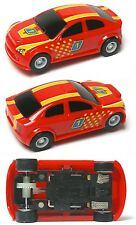 2015 Micro Scalextric G1119 My First Scalextric RED 1:64 HO Slot Car UNUSED