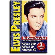 Elvis Presley - King of Rock 'n Roll ( DVD, CD & Hörbuch ) u.a Heartbreak Hotel