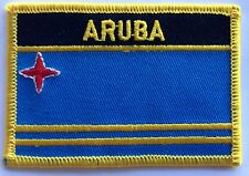 Aruba  Patch / Aruba Flag