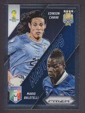 Panini Prizm World Cup 2014 - Matchups # 7 Cavani / Balotelli  - Uruguay / Italy