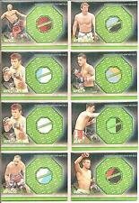 Scott Jorgensen 2012 Topps UFC Knockout Fight Mat Relics Green Card # FMSJ
