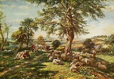MARK FISHER c1902 Oil Painting HILL AND DALE Vintage Artwork 1930 Book Print