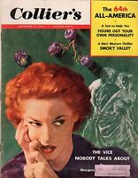 1953 Colliers December 11 - Jealousy; 64th All-America Football; Ray Bolger