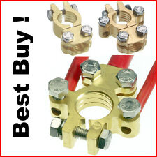 DUAL BATTERY SYSTEM TERMINALS - HEAVY DUTY FORGED BRASS