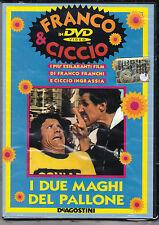 Dvd **FRANCO FRANCHI & CICCIO INGRASSIA ♥ I DUE MAGHI DEL PALLONE** nuovo 1970