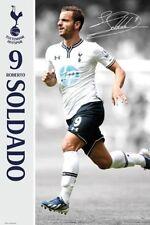 SOCCER POSTER Roberto Soldado 9 Tottenham Hotspur Football Club