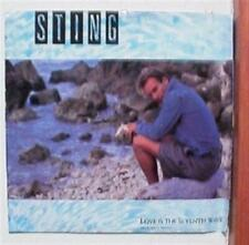 Sting of the Police Promo 45 Picture sleeve Record