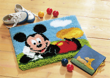 Vervaco - Latch Hook Rug Kit - Mickey Mouse - PN-0014720