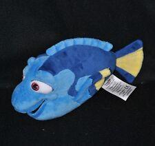Peluche doudou poisson Dory bleu DISNEY Store PIXAR le monde de Némo 22 cm TTBE
