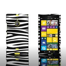 For Nokia Lumia 1520 - Rigid Snap On Plastic Design Phone Cover Case
