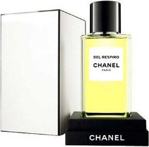 LES EXCLUSIFS DE CHANEL BEL RESPIRO 2.5 oz (75 ml) EDT Spray NEW but NOT SEALED