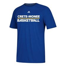Adidas Men's Blue Create Monee Basketball Ultimate Climalite Perf. T-Shirt