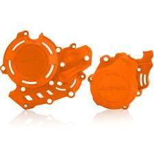 Acerbis X-Power Kit Zündung Kupplung Deckel Schutz Orange Husqvarna KTM 450 16-