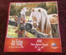 Sunsout 500 Piece Puzzle Called Just Visiting