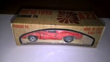 Mebetoys art.A27 No Mattel Ferrari P4 colore Rosso Chiaro con scatola originale.