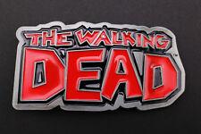 THE WALKING DEAD SOLID GREY BELT BUCKLE COMIC BOOK  AMC