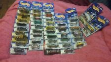 44 hot wheels cars nip artistic license tropicool 2001 collector tech tones