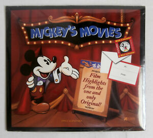 Mickey's Movies 1996 Calendars, MICKEY MOUSE, WALT DISNEY, Shrinkwrap   r