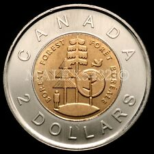 2011 CANADA 2 DOLLARS BOREAL FOREST PARKS CANADA UNC