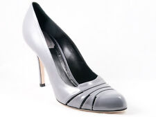 New  Christian  Dior Glam Gray Patent Leather Pumps  Size 41  US 11