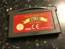 NINTENDO GAMEBOY GAME & WATCH GALLERY ADVANCE fire boxing cement factory dk3 jr