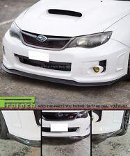 VR STYLE CARBON FIBER FRONT BUMPER LIP FOR 2011-2012 SUBARU IMPREZA GVF WRX STI