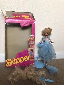 Vintage Barbie Skipper Beauty Bath Washcloth MINT