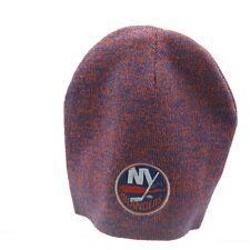 New York Islanders Nhl Reebok Youth Boys Osfm Knit Winter Beanie Hat Cap New