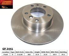 Disc Brake Rotor-Standard Brake Rotor Front Best Brake GP3441