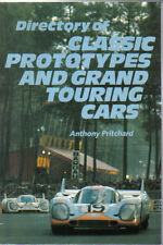 Directory of Classic Prototypes & GP Touring Cars by Pritchard Pub. 1988