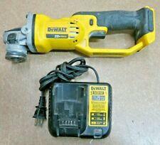 "DeWalt Dcg412 4-1/2"" 20V Angle Grinder With Charger (Please Read) No Battery"