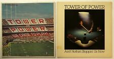 TOWER OF POWER Lot Of 2 LPs; We Came to Play & Aint Nothin Stoppin Us Now #2501