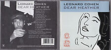 CD 12T LEONARD COHEN DEAR HEATHER DE 2004