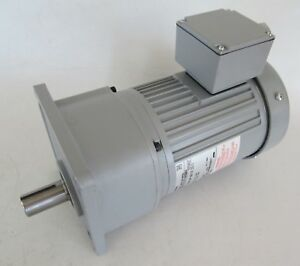 Brother 3-Phase Induction Gear Motor 415/460V 1/2HP 15:1 G3KM-22-15-T040WAX