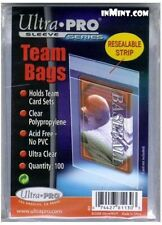 Ultra Pro - Team Bags Resealable 100ct