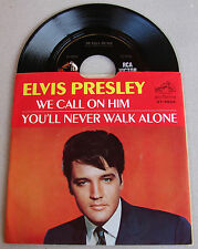 Elvis Presley We Call On Him / You'll Never Walk Alone 47-9600 RARE DOS,PS MINT-