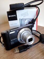 Sony Cybershot DSC-W810 Black 20.1 Megapixels 6x Zoom Unused plus SD Card