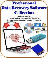 Ultimate Data Recovery Software Collection Easy Use Portable Computer Must Have