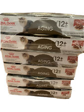 Premium Royal Canin Aging 12+ Thin Slices in Gravy Wet Cat Food, 3 3 oz...