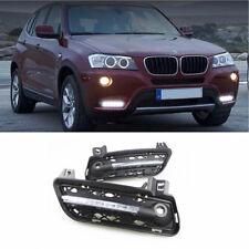 Fog light Daytime Running Light DRL LED Day Light For BMW X3 F25 2011 2012 2013
