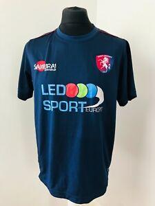 Kent County Cricket Club Shirt  Cricket Jersey Navy Kent CC Size Large