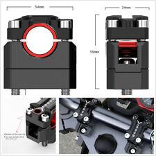2 Pcs Adjustable Aluminum Alloy Motorbike ATV Handlebar Riser For 22/28mm Handle