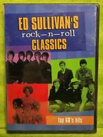 Ed Sullivan's Rock-n-Roll Classics: Top 60's Hits DVD - NEW